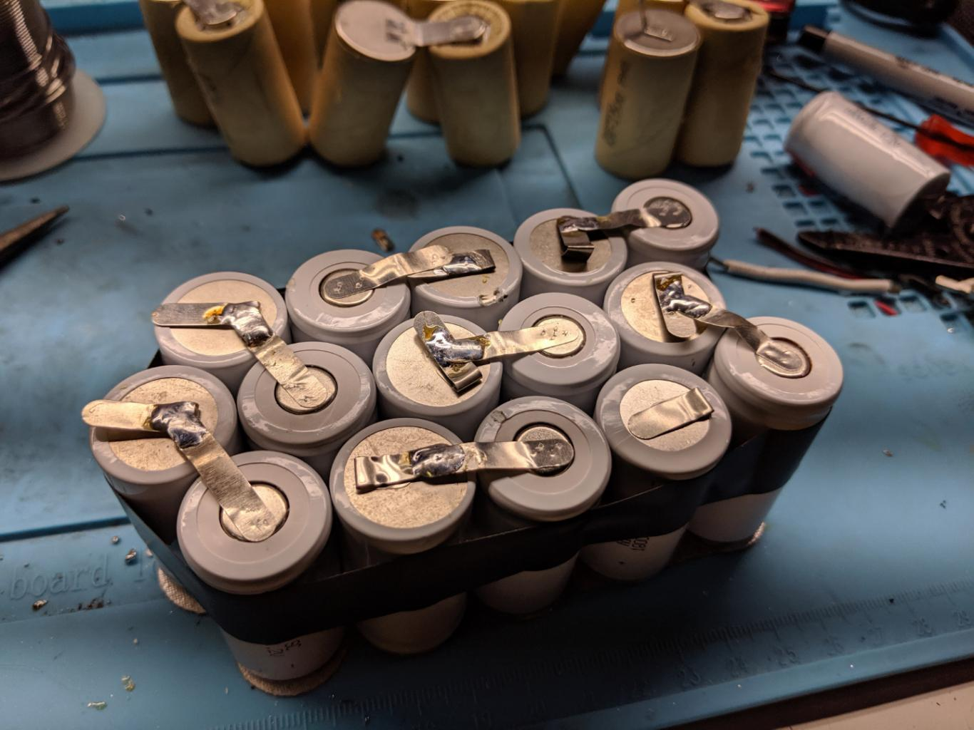 Nickel-Cadmium (NiCd) Battery Pack Rebuilds